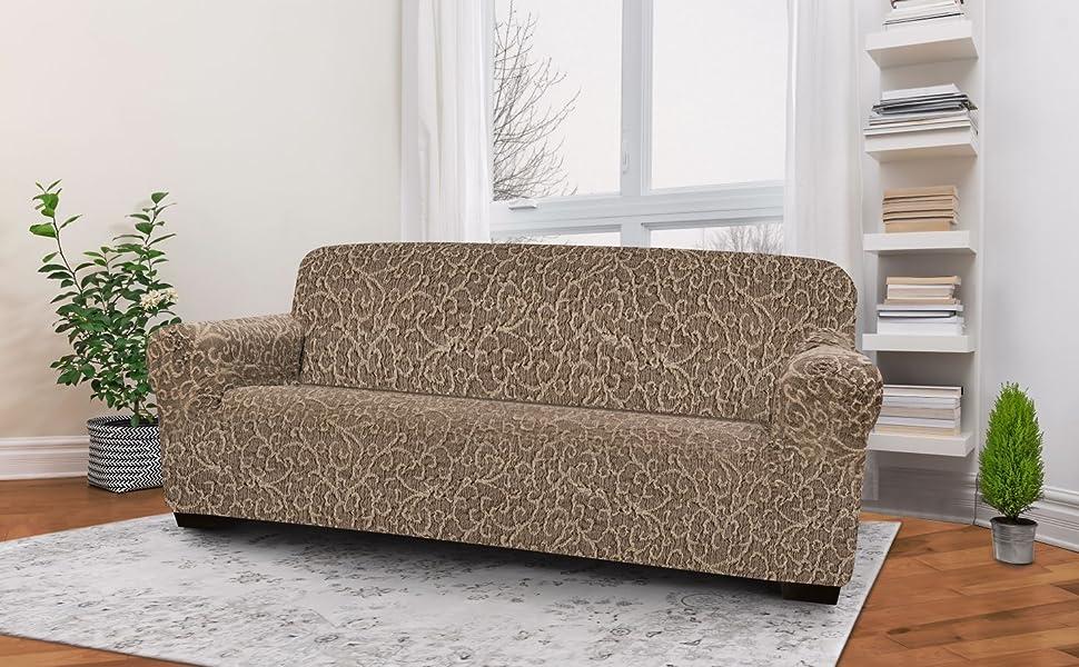 Amazon.com: PAULATO BY GA.I.CO. Couch Cover - Sofa Cover ...