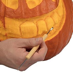 Amazon.com: pumpkin carving tools halloween sculpting kit with 11