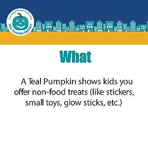 teal pumpkin project halloween non candy alternative treats trick or treat allergy awareness