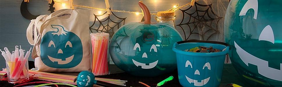 teal pumpkin project allergy awareness halloween trick or treat non candy alternative treats