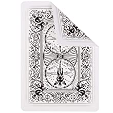 Ellusionist Bicycle Ghost white playing card deck poker casino magic trick sleight hand illusion