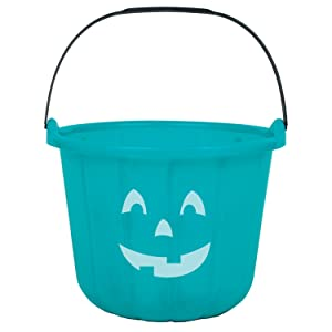 teal pumpkin bucket trick or treat non candy alternative treats halloween
