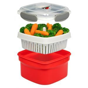 streamer, strainer, and storage container