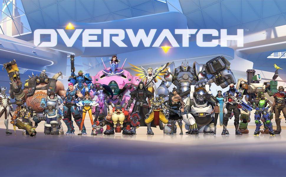Amazon.com: Overwatch - Llavero con símbolos de Icono para ...