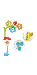 Mobile water yookidoo baby bath toy tub kid child play girl boy toddler preschool infant newborn