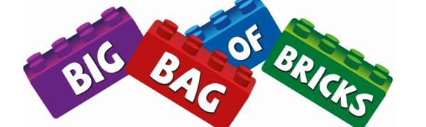 Big Bag of Bricks Logo Bricks