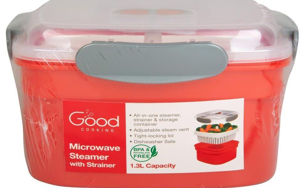Good Cooking Microwave Steamer