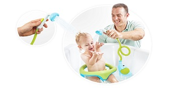 Elephant Water Pump and Trunk Spout for in Or Yookidoo Baby Bath Shower Head