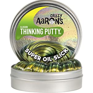 crazy aaron aarons thinking putty slime fidget stress reliever silly liquid glass super oil slick