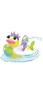 Firefighter duck water yookidoo baby bath toy tub kid child play girl boy toddler preschool gift