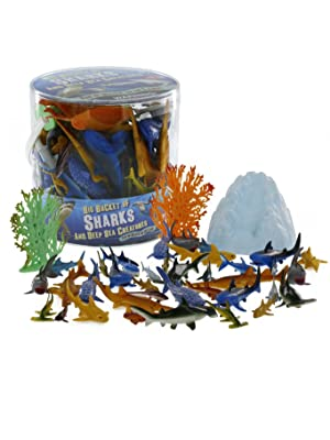 big bucket of action figures party favors decorations themed toy set sets boys girls kids