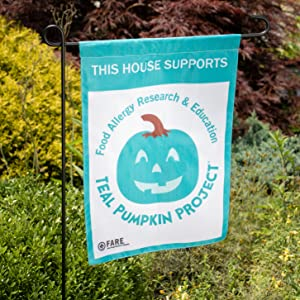 teal pumpkin project allergy awareness non candy alternative treats halloween trick or treat