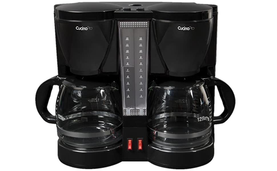 CucinaPro Cooking Cook Kitchen Professional Culinary Chef Gourmet Baking Food Appliance Coffee Maker