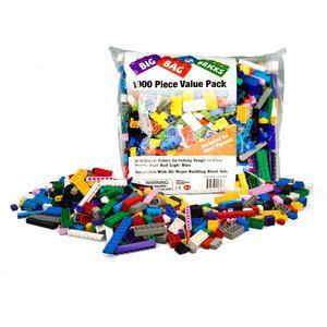 Big Bag of Bricks Variety Reliable Bricks Colorful