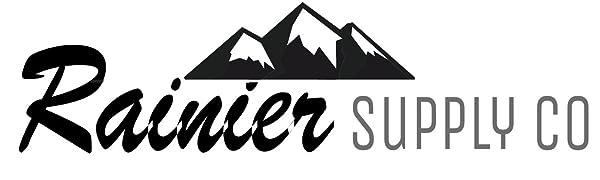 Rainier Supply Co Logo. For Dock Line, Dockline, Mooring Line
