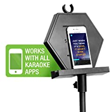 karaoke apps smartphone smart-phone karaoke system karaoke machine singing machine singtrix karaoke