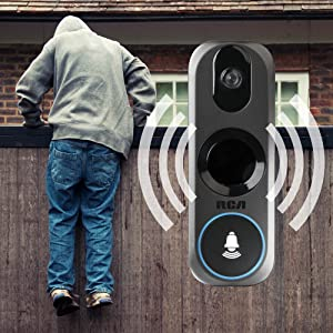 ring doorbell, motion detection, motion detector, alarm system home security rca zmodo simplisafe