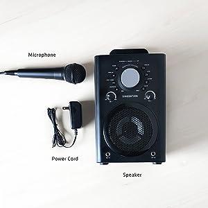 karaoke apps, karaoke microphone and bluetooth speaker system, karaoke system, karaoke microphones