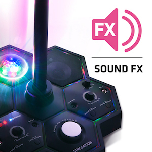sound effects FX voice recorders sing with music karaoke performer super star singer pop star system