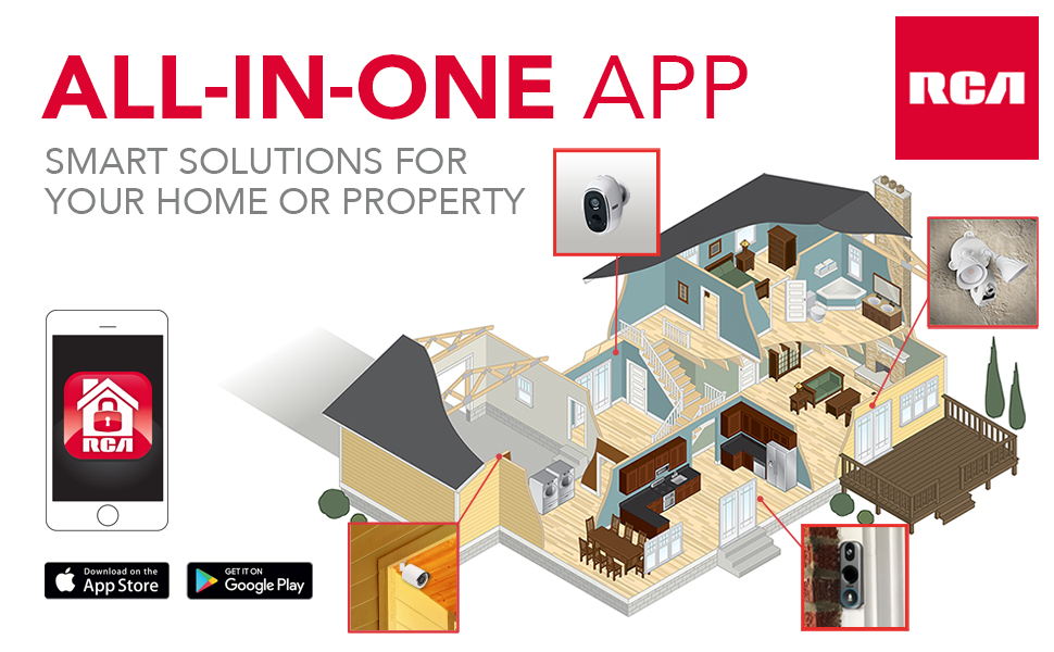 home security theft phone app security camera seguidadas loss prevention crime protection property