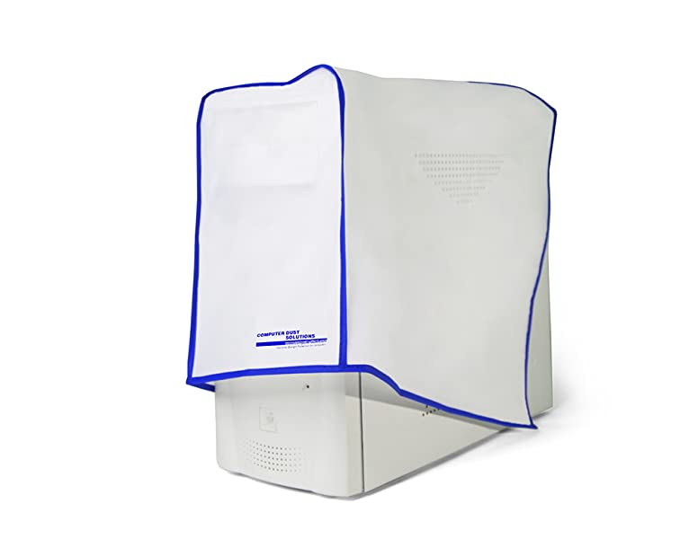 4.5W x14H Dirtbag Inc non woven polyester Computer Dust Cover 24 hr protection- even while in use several sizes available