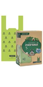 poop bags with handles