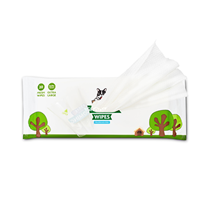 poli's grooming wipes travel pack open