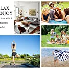 Amazon.com: Bufanda de chal Infinity – 2018 a la moda manta ...