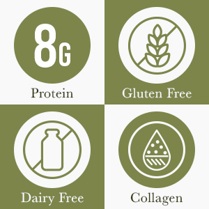 Protein Gluten Free Diary Free and Colagen