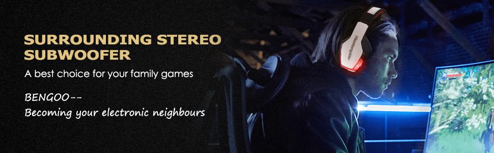 Amazon.com: BENGOO X-40 - Auriculares de diadema para Xbox ...