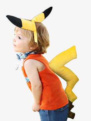 Amazon.com: Wodceeke Halloween Pikachu Kit de disfraz ...