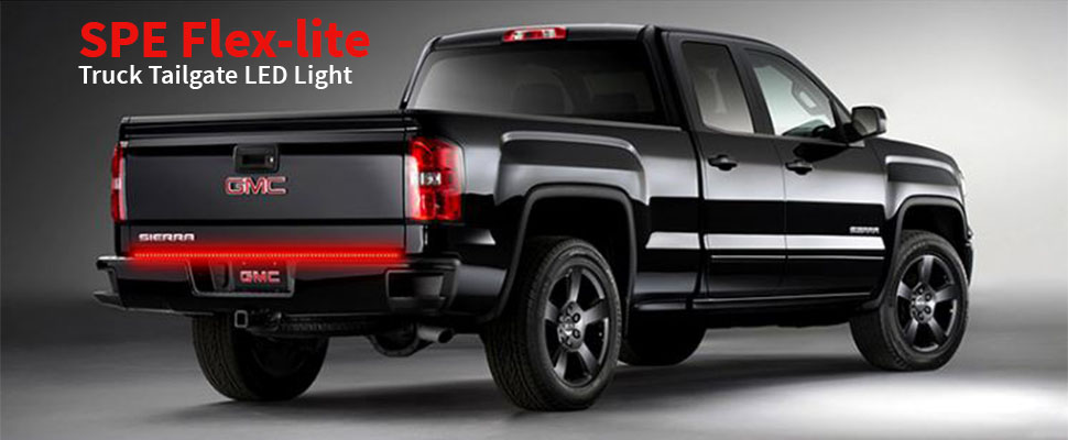 Amazon 60 truck tailgate light bar strip brake turn signal keep them at a distance with the all new spe truck tailgate light bar strip each strip has 72 bright reasons to notice your pickup truck braking or aloadofball Image collections