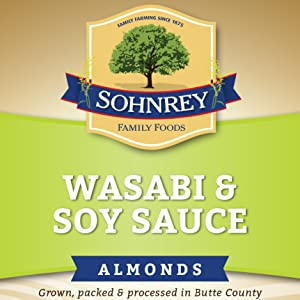 wasabi soy sauce blue dry smoked spicy bold diamond roasted canned artisan fresh 1lb variety almonds