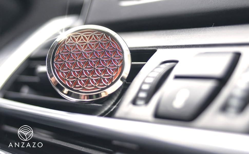 Car Essential Oil Diffuser by Anzazo