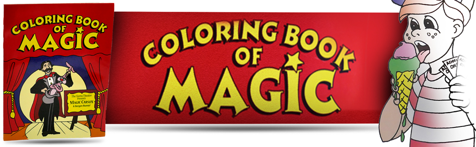 although this is the orginal magic makers magic coloring book this trick actually has a long and rich history in fact the original concept goes back - Coloring Book Magic Trick