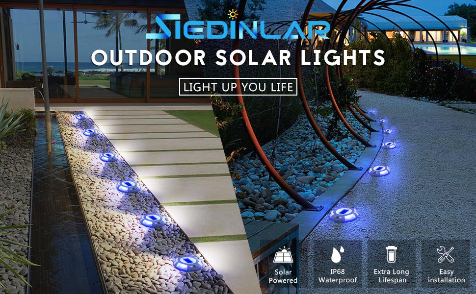 Spotlights led paving receipt footage Garden Road Driveway Lighting
