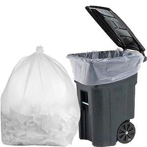 Amazon.com: mill-95 Galón basura bolsas de plástico, 3 mil ...