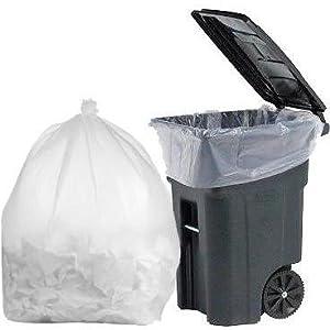 Amazon.com: mill-95 Galón basura bolsas de plástico, 1.5 mil ...