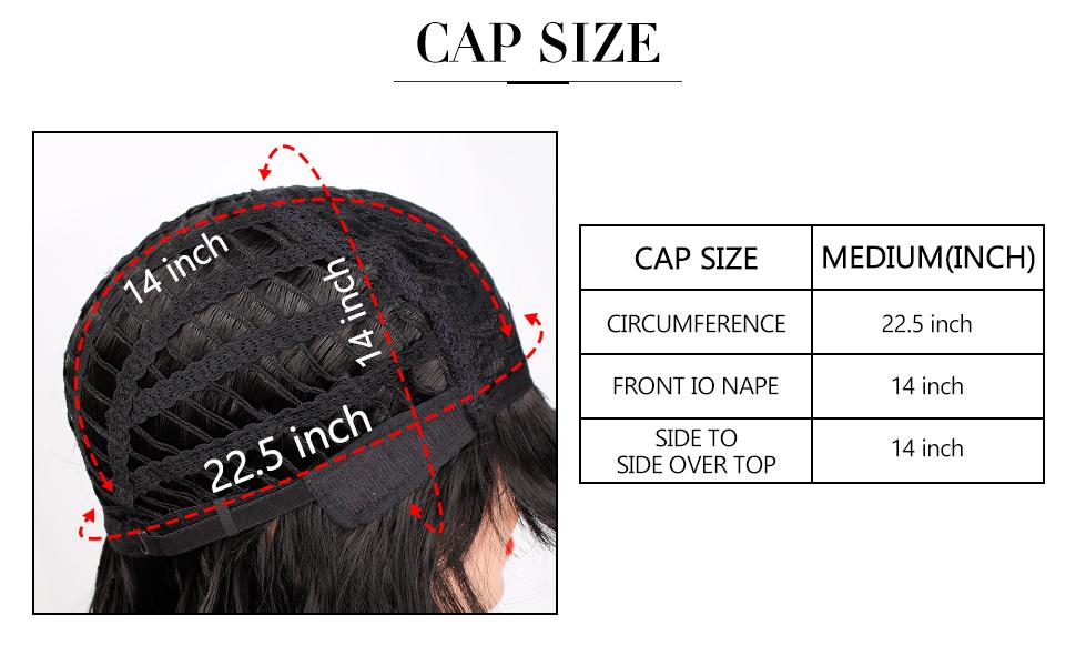 cap size