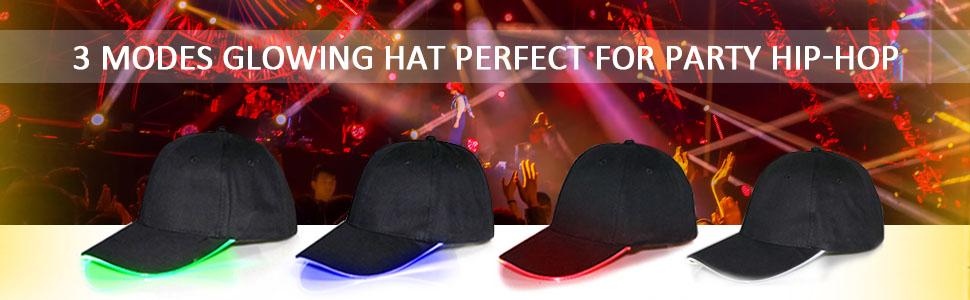 glowing hat