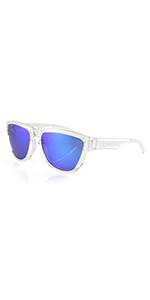 af848310fe73 Filthy Anglers Wedge Polarized Sunglasses Mens Women s Black Frame Black  Lens · Filthy Anglers Wedge Polarized Clear Sunglasses Smoked w  Blue  Mirror Lenses ...