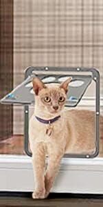 Cat screen Door