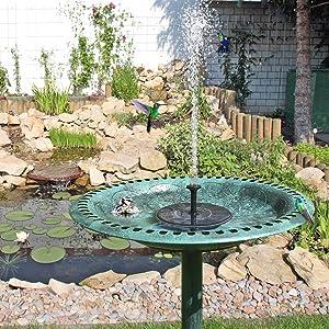 Solar Water Pump,Solar Fountain Pump, Solar Garden Water Pump