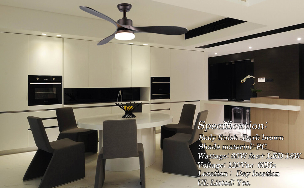 Samrt ceiling fan