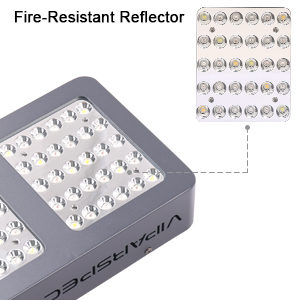 viparspectra reflector series 300w led grow light