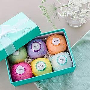 cruelty free vegan bath bomb set gifts birthday for women