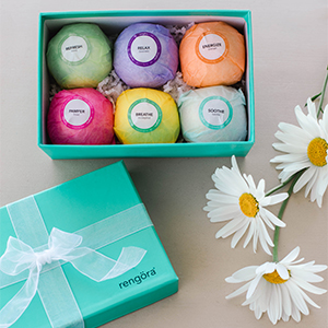 bath bombs for women teens girls fun fizzy detox spa-like colorful eucalyptus lavender