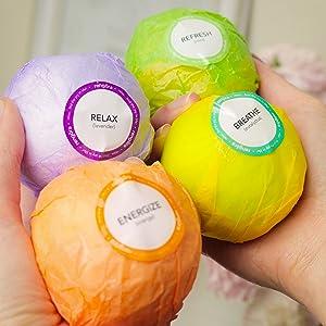 lavender bath bombs eucalyptus essential oils mint relaxing bath bombs to destress