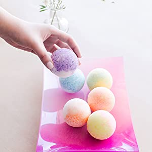 fizzy kids bath bombs set gifts christmas for women