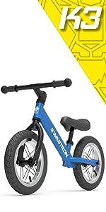 Amazon.com: K2 Bebe Scooter de 3 ruedas y Ride-On Balance ...